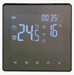 Терморегулятор WarmLife Mirror WI-FI BLACK